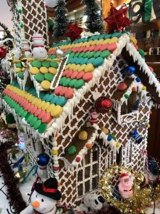 SeaDream 2's gingerbread house