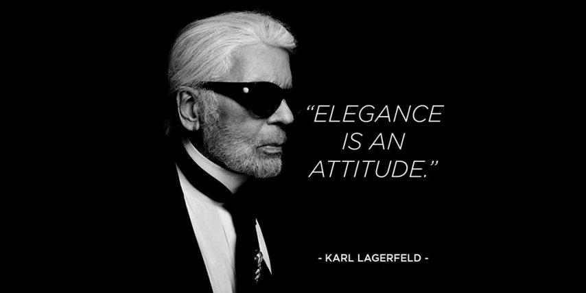 Karl Lagerfeld Twitter post