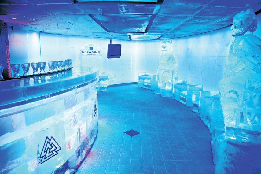 SKYY Vodka Ice Bar