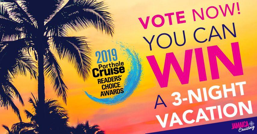 Porthole Cruise Magazine Reader's Choice Awards 2019