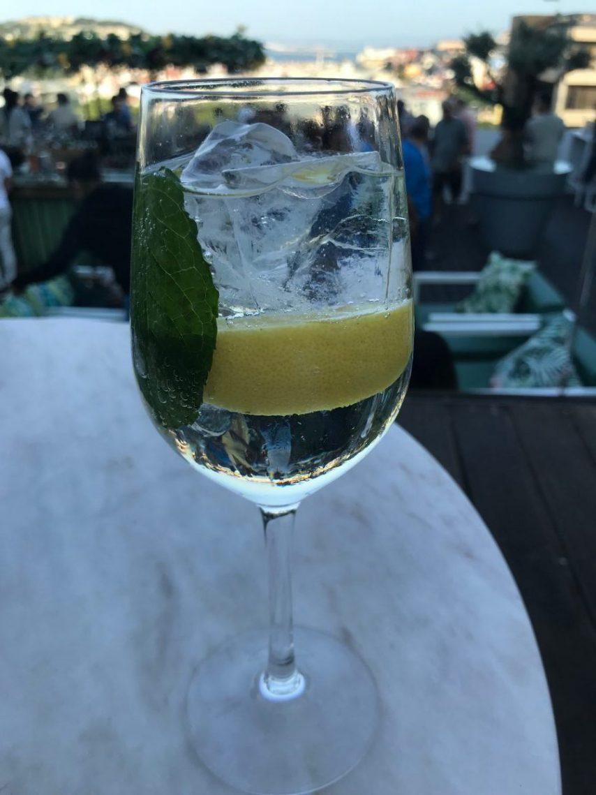 A port&tonic from Seen in Lisbon, Portugal