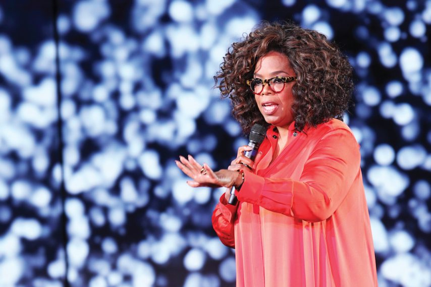O Magazine- Holland America Line, Oprah Winfrey at the Girls Getaway