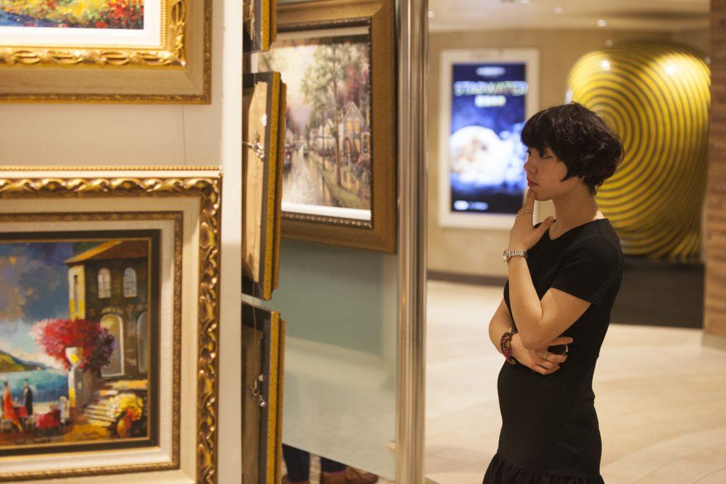 The Best Place to Buy Art? On a Cruise Ship! , Porthole Cruise