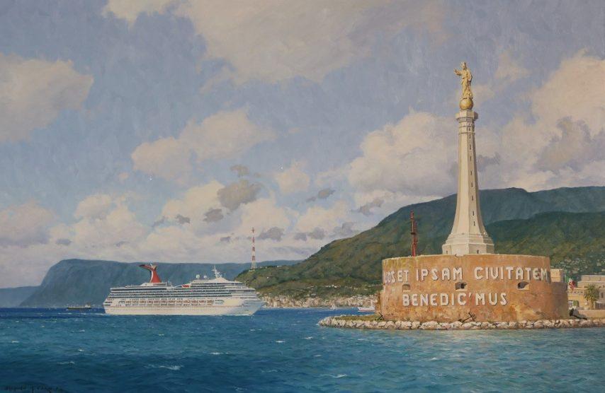 Cruise Ship Artist