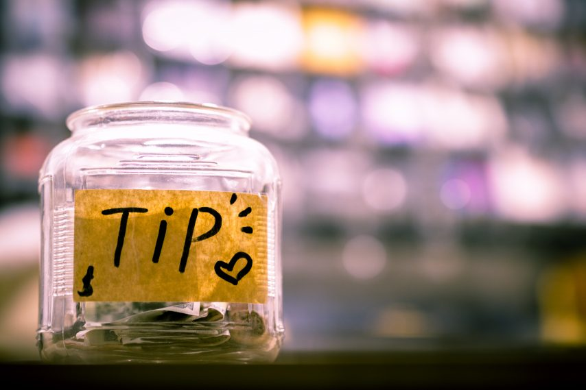 Tips for tipping on a cruise