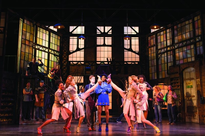 Scene from Kinky Boots