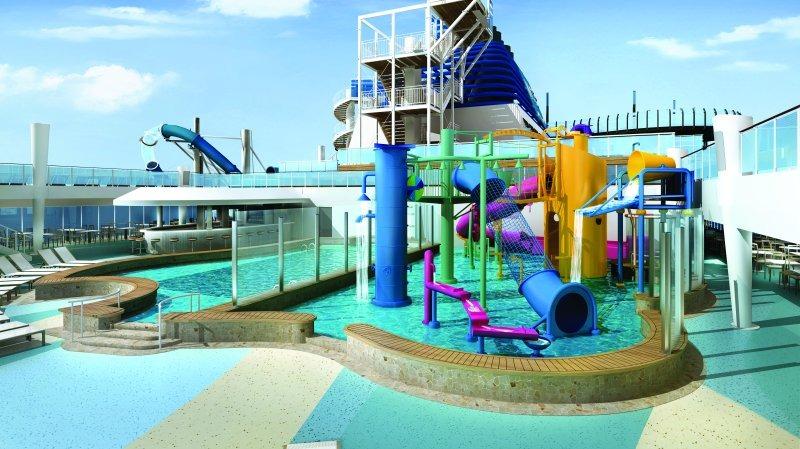 Norwegian Encore Kids' Aqua Park