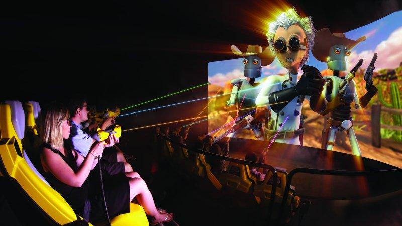 Norwegian Encore Galaxy Pavilion Los Banditos