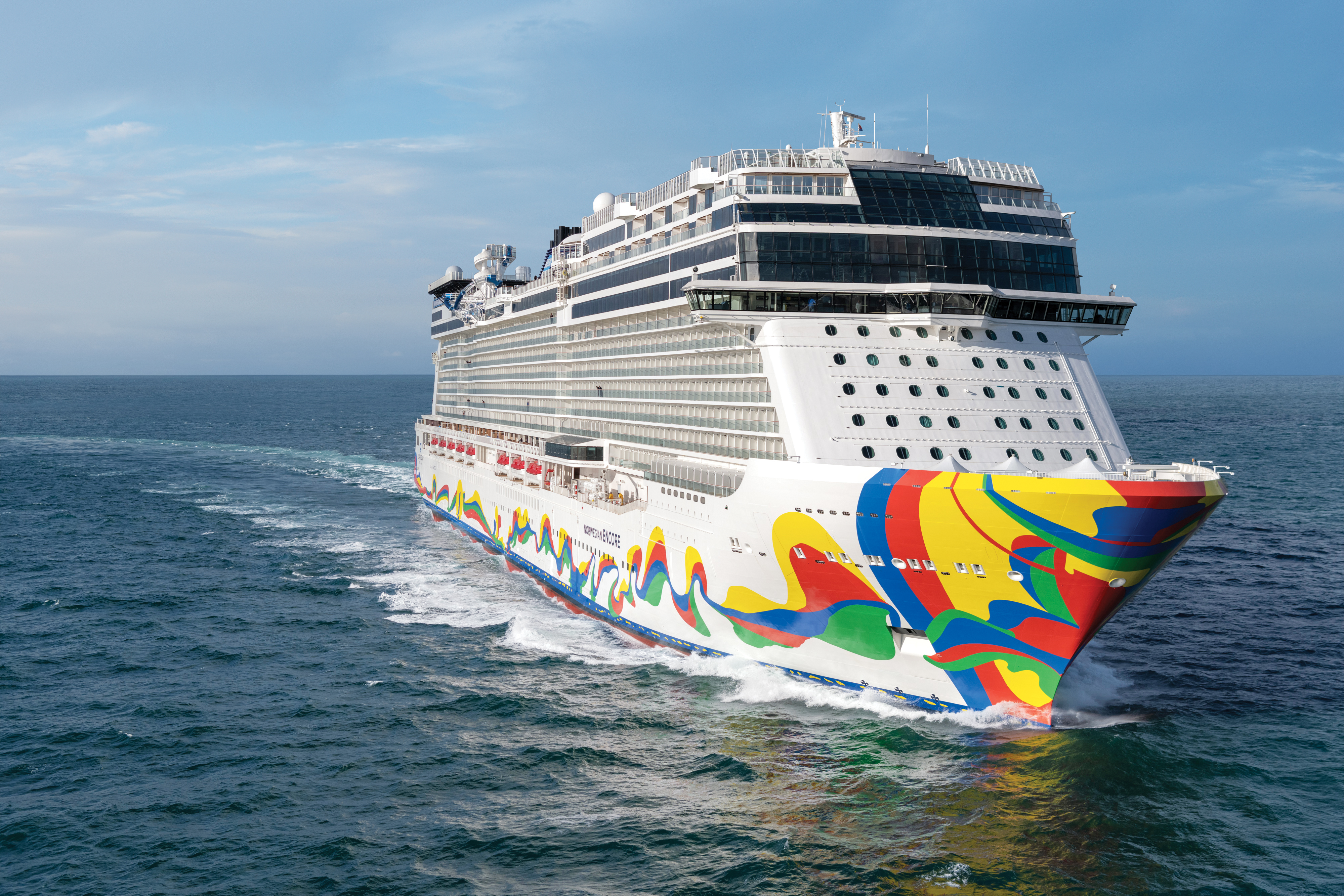 Norwegian Encore - Aerials (5)