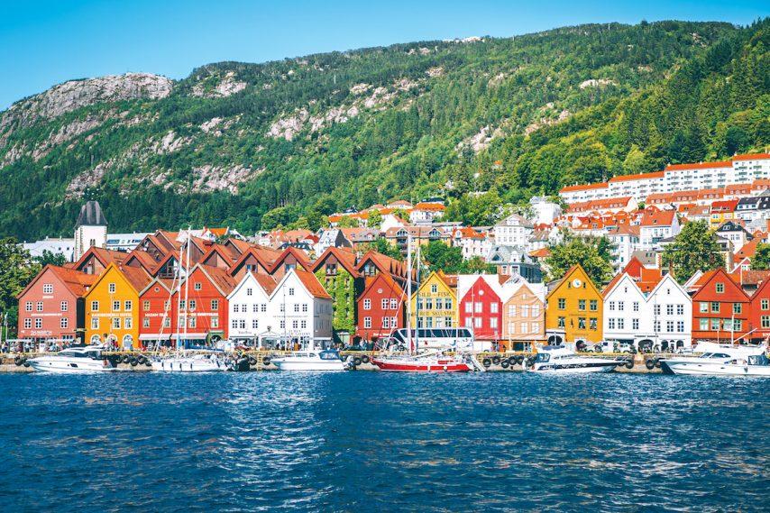 Scandinavian scenery on a Viking heritage cruise