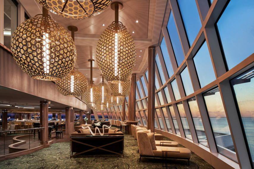 The Observation Lounge, Norwegian Encore