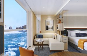 Rendering of the Viking Expedition ship: Penthouse Junior Suite - Polar Option