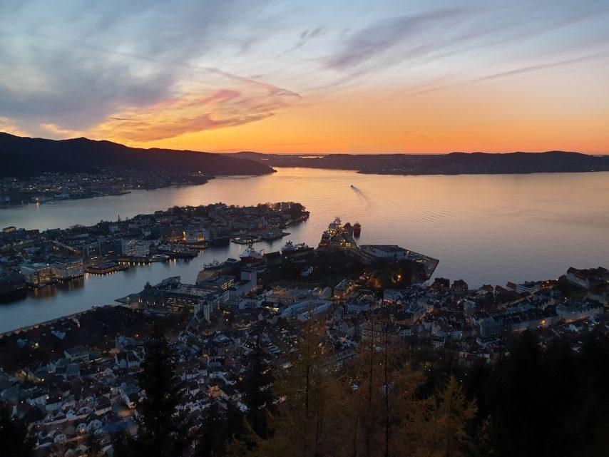 Cruise to Bergen, Norway
