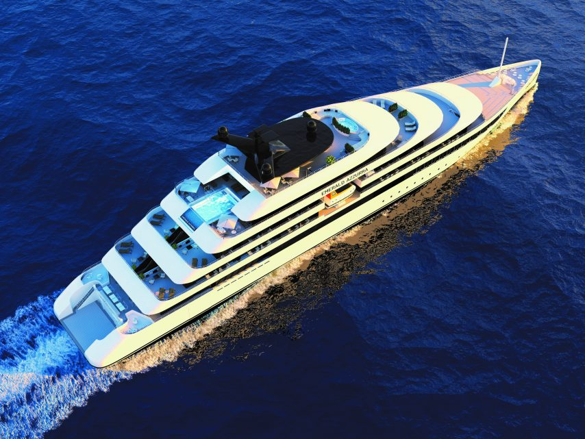 Emerald Azzurra, from Emerald Yacht Cruises, due in 2021