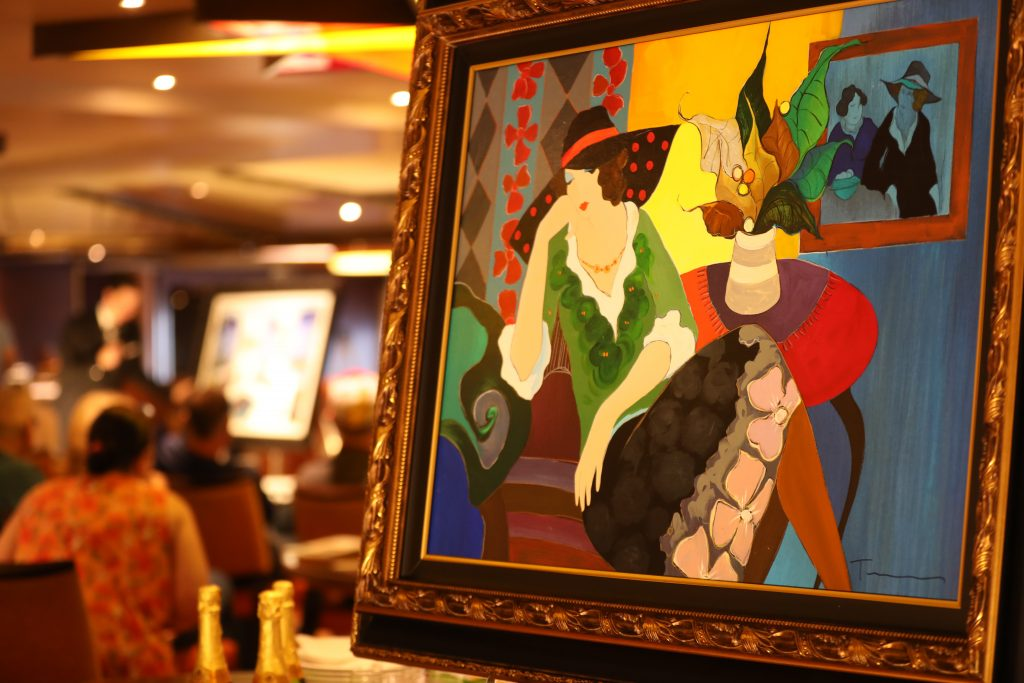 Cruise Ship Art Auctions
