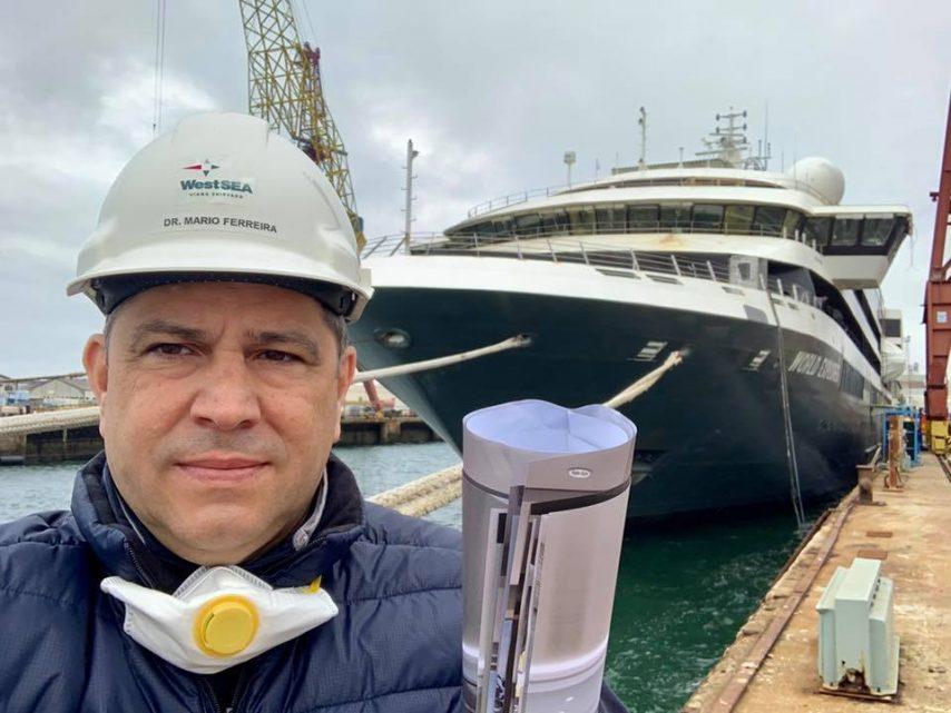 Mário Ferreira with Mystic Cruises