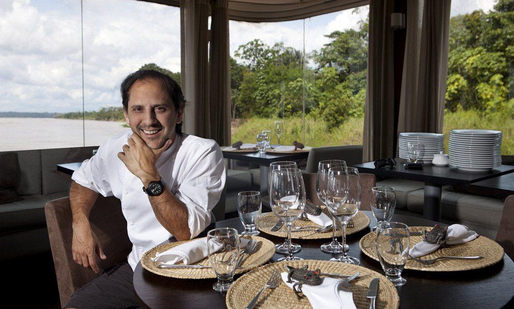 Chef Pedro Miguel Schiaffino