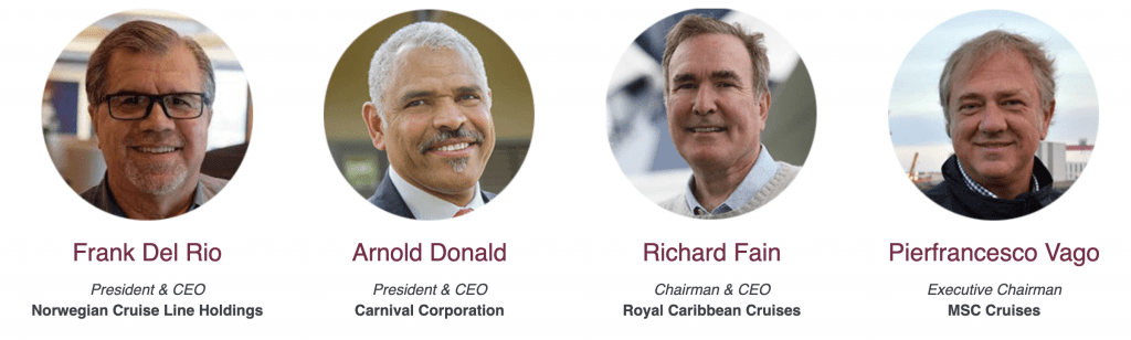 Cruise Line Executives