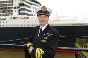 Cunard's Captain Christopher Wells Retires After 20 Years