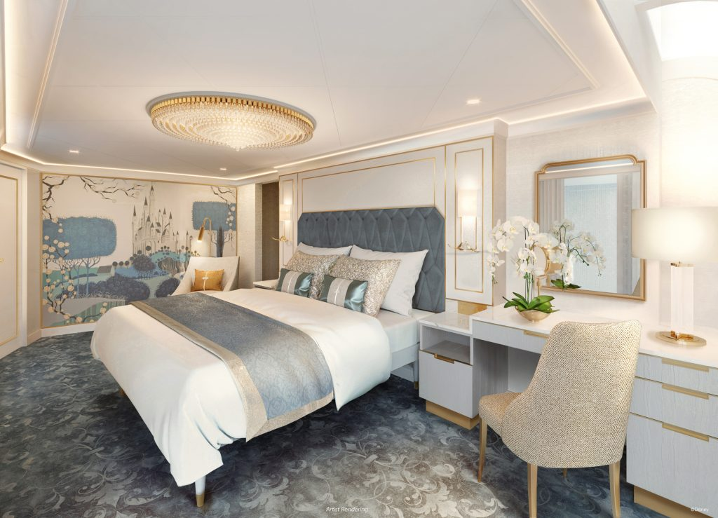 Disney Wish Royal Suite