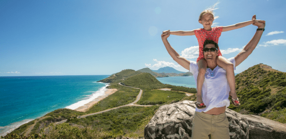 St. Kitts is the Ultimate Family Vacation Island