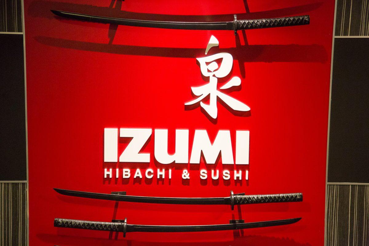 Launch of Symphony of the Seas, Royal Caribbean International's newest and largest ship.Izumi Hibachi & Sushi