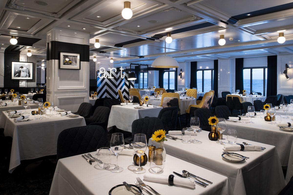 Tuscan Restaurant - Deck 3 Aft StarboardCelebrity EDGE - Celebrity Cruises