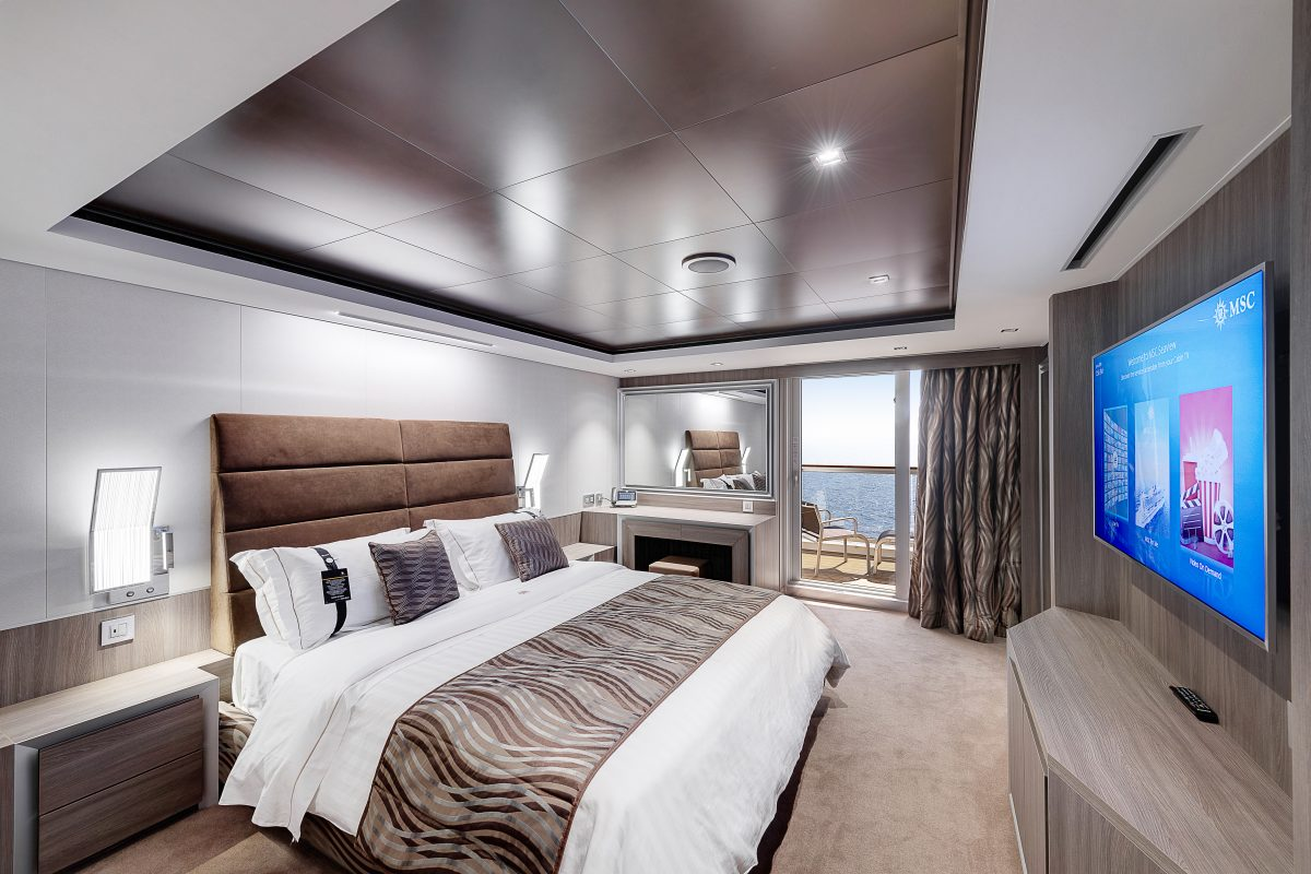 MSC Seaview, MSC Yacht Club Royal Suite