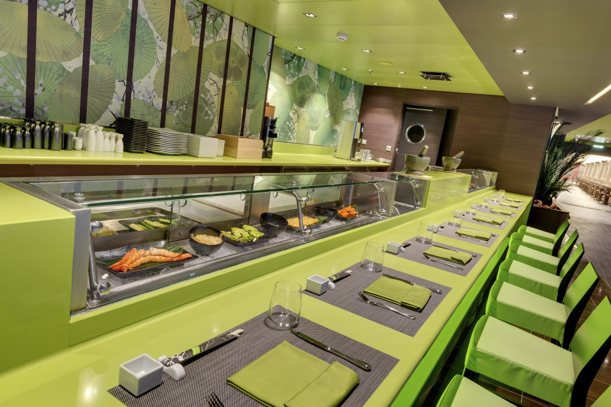 MSC Bellissima, Kaito Sushi Bar
