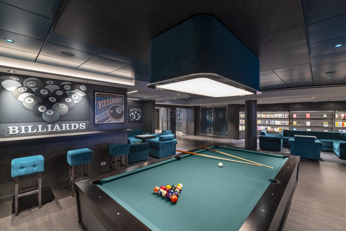 MSC Seaview, The Billiard Room