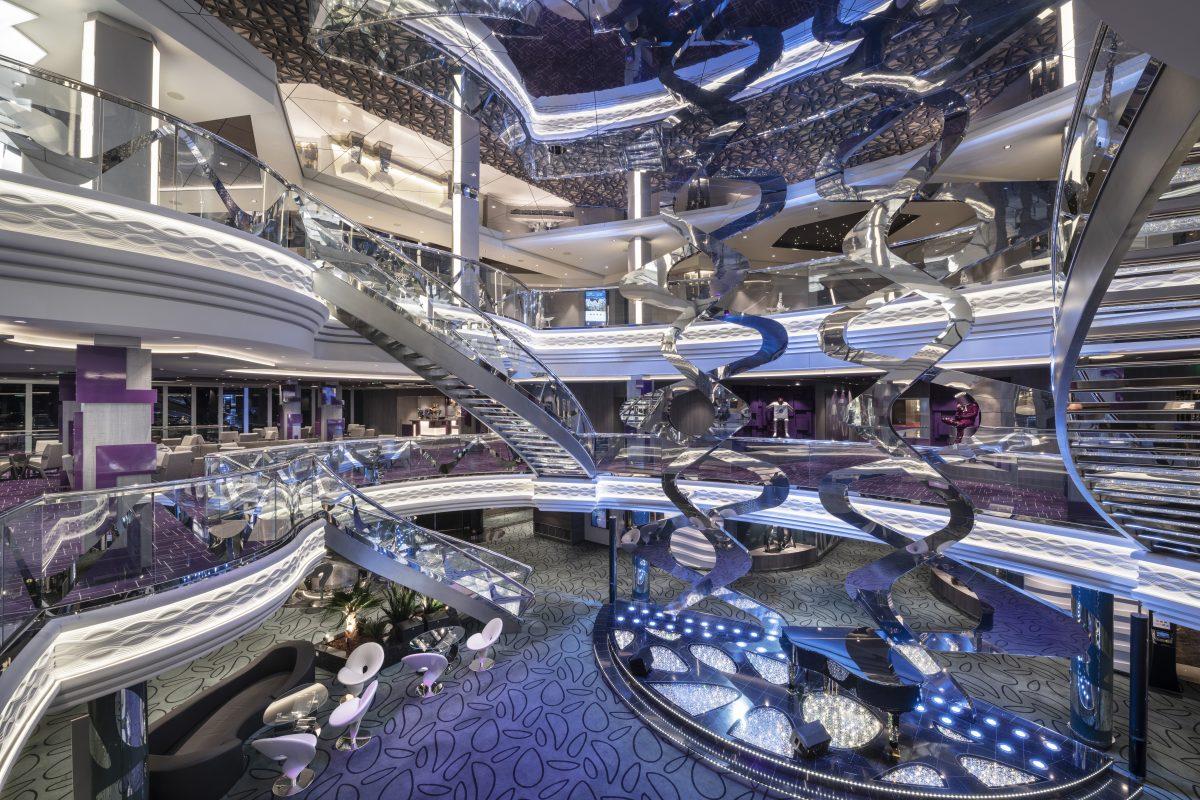 MSC Bellissima, Infinity Atrium